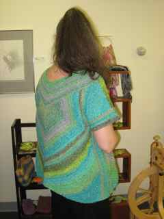 Heartbeat Sweater rear view
