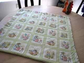 Entrelac blanket 2