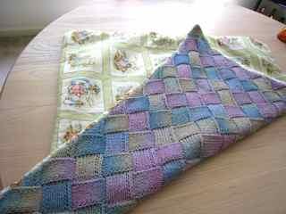 Entrelac blanket 3