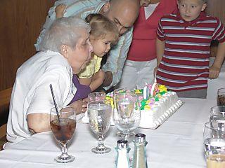 Edythe's 90th Birthday Party cake