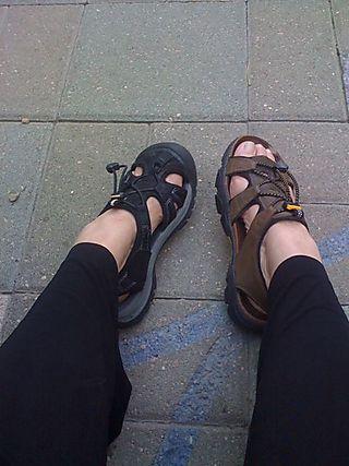 Feet in Boulder