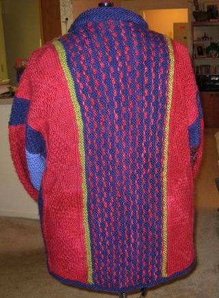 Kimono Jacket Back Finished