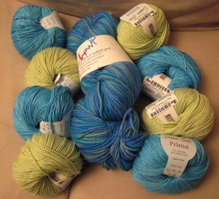 Yarn for woven baby blanket
