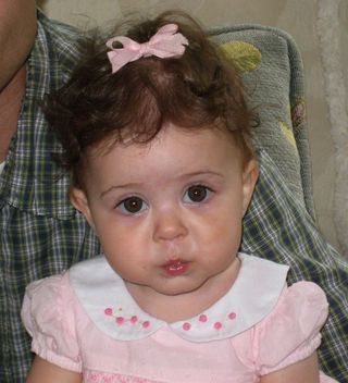 Paige 1 yr old