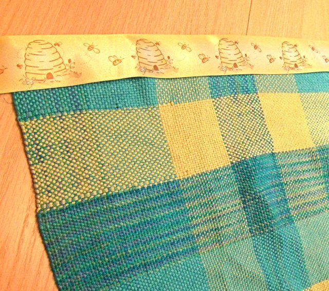 Woven Blanket in progress