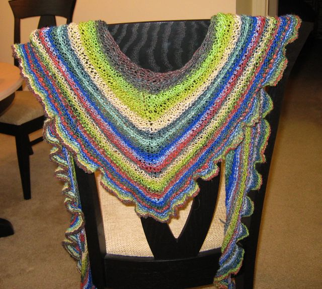 Ruffle and Ridge Noro