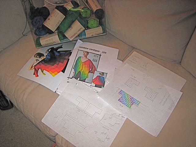 Intarsia planning