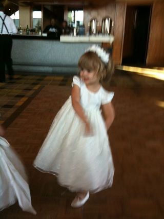 Abby as flower girl