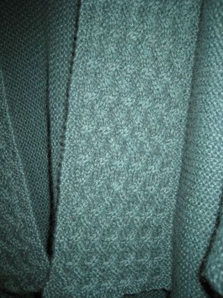 Origami cardi close up