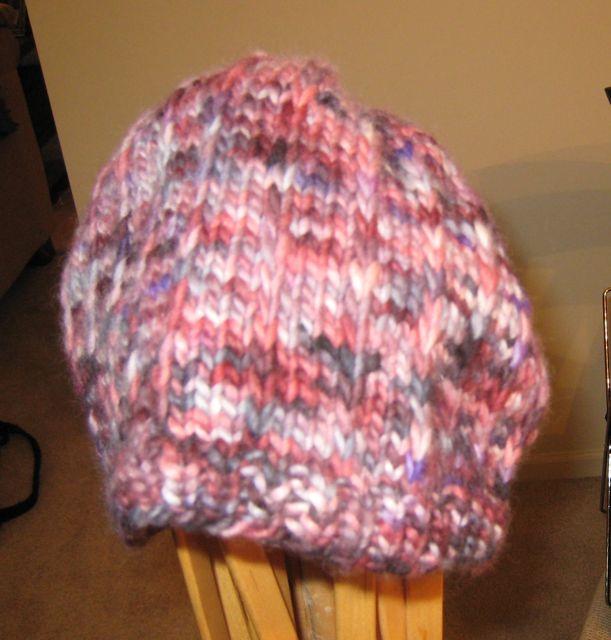 Hat in Merisoft reds