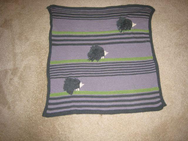 Porcupine Blanket for Sylvia